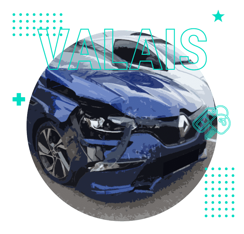 Rachat voitures accidentées Valais